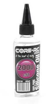 CORE RC SILICONE OIL - 2000CST - 60ML CR216 - Hobby Circuit