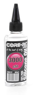 CORE RC SILICONE OIL - 3000CST - 60ML CR217
