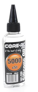 CORE RC SILICONE OIL - 5000CST - 60ML CR219