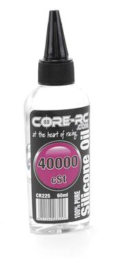 CORE RC SILICONE OIL - 40000CST - 60ML CR225
