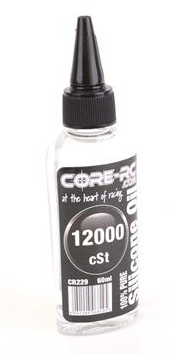 CORE RC SILICONE OIL - 12000CST - 60ML CR229