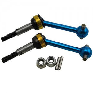 Tamiya Option Parts TT01 / TT02) CVD / Alum Universal Shaft (Blue Color) by ginge dtor01011b