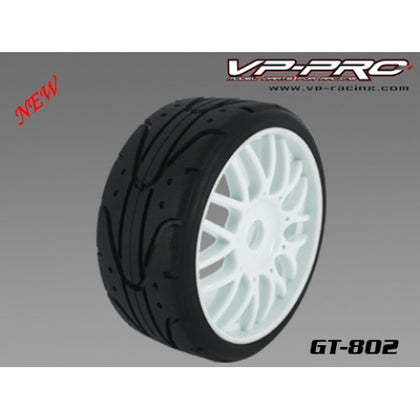Vppro GT-802G-M4-RW 1/8th GT tyres