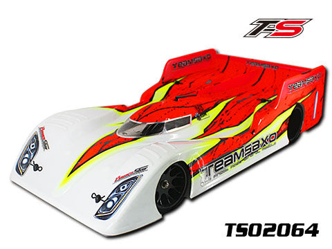 TeamSaxo TS02064 1:10 PAN CAR CLEAR BODY 200MM