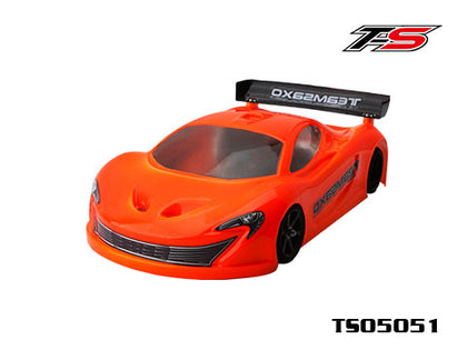 Teamsaxo ts05051 1:12 PAN CAR GT CLEAR BODY SHELL 0.8MM