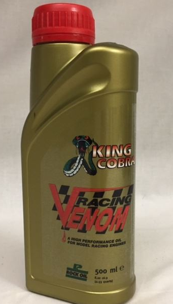 Racing Venom Performance 2 Stroke Racing Oil. 500ml