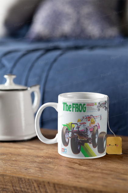 Tamiya Frog box art mug