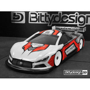 Bittydesign Hyper 1/10 190mm Ultra Lite Clear Body Set For 1/10 RC Touring Car BDTC-190HYULT