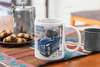 Tamiya Karman ghia box art mug