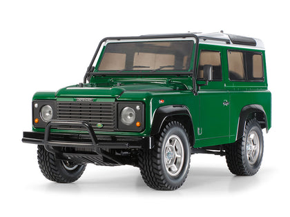 Tamiya 1/10 R/C Land Rover Defender 90 (CC-01) Item No: 58657