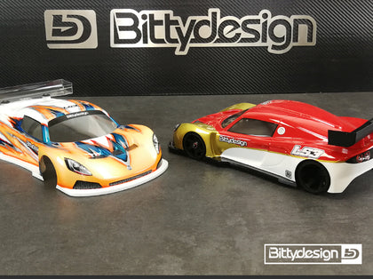 Bitty Design LS3 1/12 body (Light)
