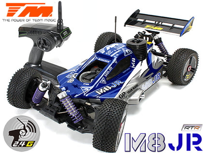 Team Magic M8JR 1/8 Nitro - 4WD Buggy - RTR - Pull Start