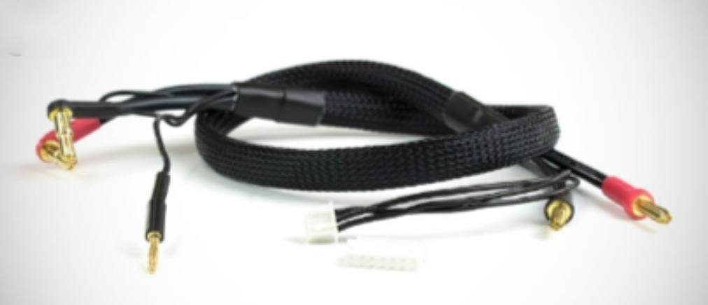 optipower OPTI RACE PACK CHARGE LEAD – BLACK opr clbk