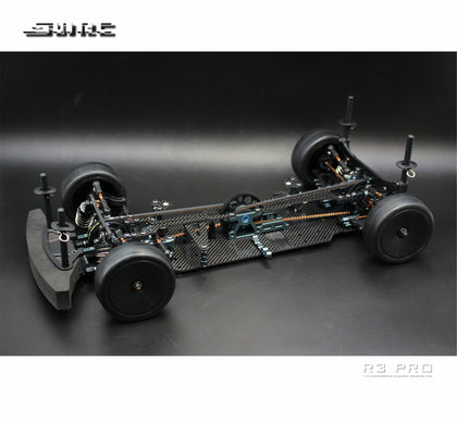SNRC 120023 R3-PRO 1 / 10 standard carbon fiber center electric house frame 4WD