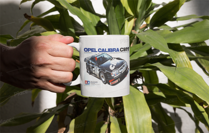 Tamiya Calibra box art mug