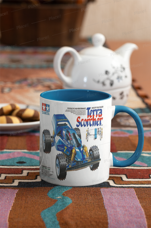 Tamiya Terra Scorcher box art mug