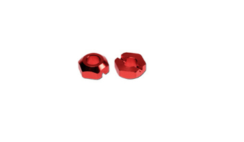 TYTD020 TRESREY WHEEL HEX FRONT (RED/DEX410/410R/2pcs)