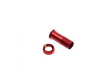 TYTD021 TRESREY ALUMINUM SERVO SAVER SHAFT & NUT (RED/DEX410/410R/1pc)