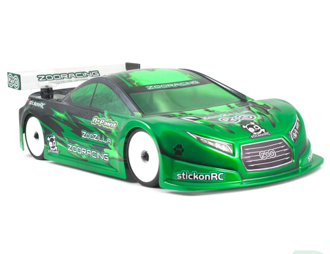 ZooRacing ZooZilla Standard Weight 1/10 190mm Touring Car Bodyshell