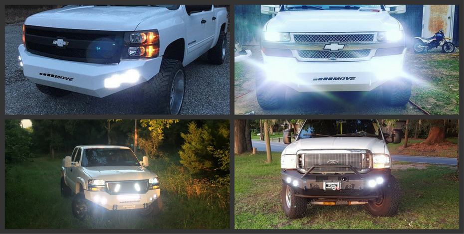 MOVE Bumpers Now Offering Black Oak LED Lights