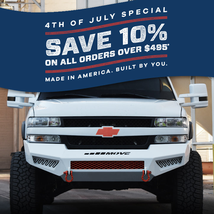 4th of July Special on Bumper Kits