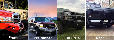 Front, PreRunner, Full Grille, Rear DIY Bumper Kits - MOVE Bumpers