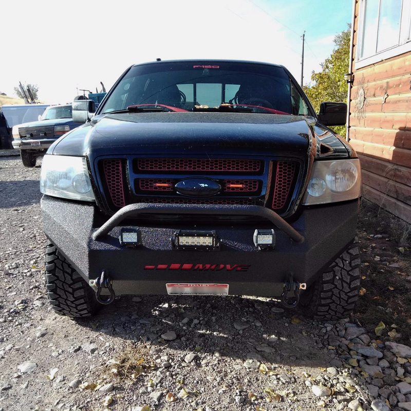 "2.5"" Push Bar Bumper - Front"