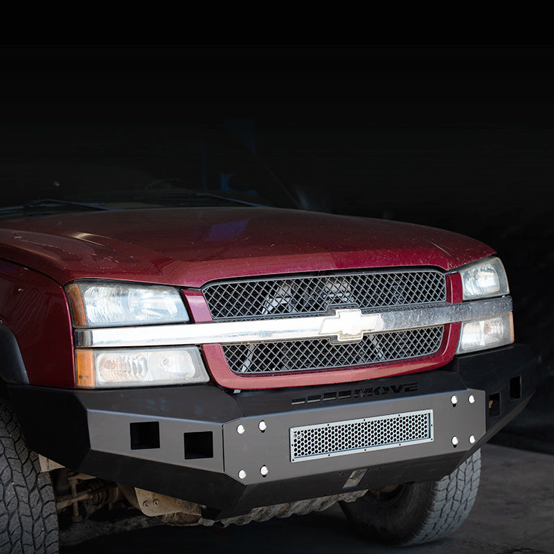 Modular Bolt On Front Truck Bumper - 2003 - 2007 Chevy 2500/3500