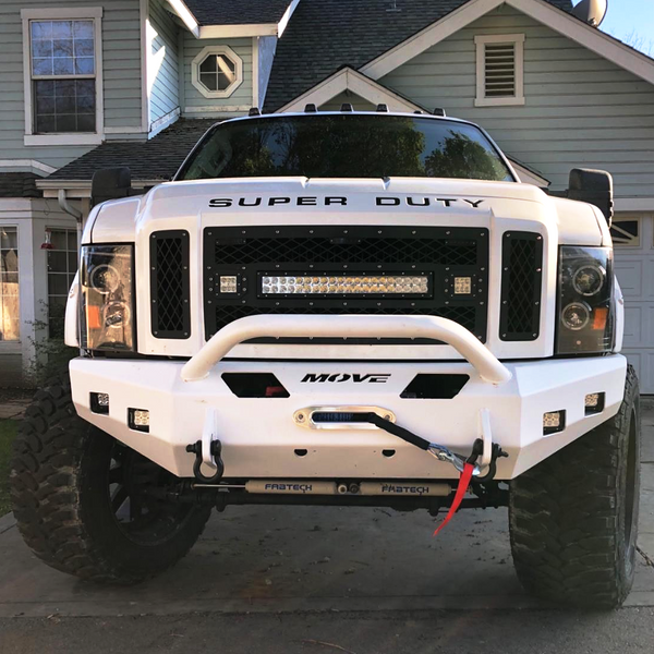 Ford Bull Bar Bumper Kit