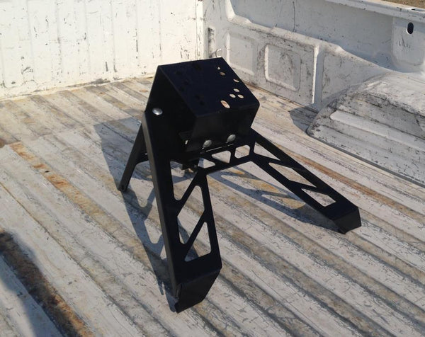 Move Bed Mount Tire Carrier - Angled