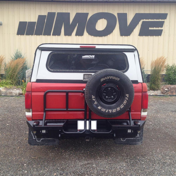 Swing Out Utility Rack/Tire Carrier Kit