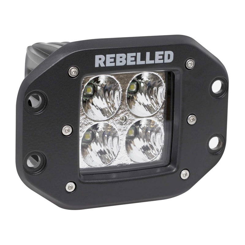 Rebelled LED Flush-Mount Pod + Harness