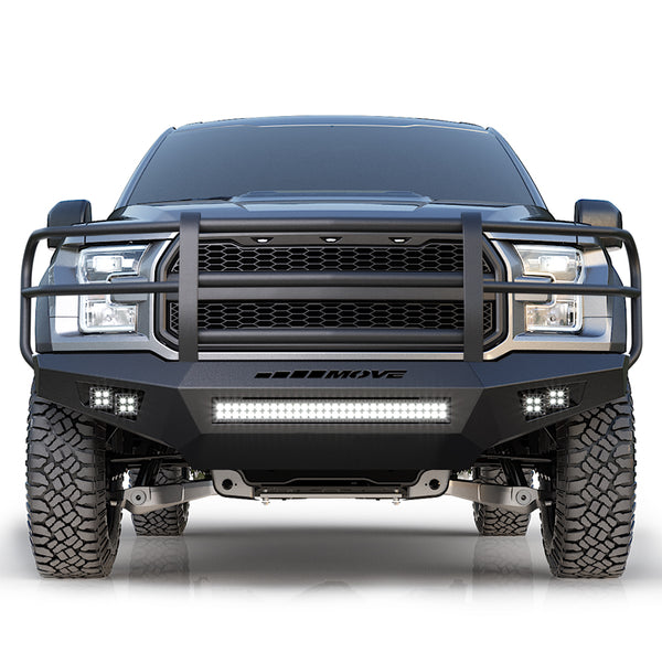 Heavy-duty Full Grille Truck Bumper Kit - MOVE Bumpers