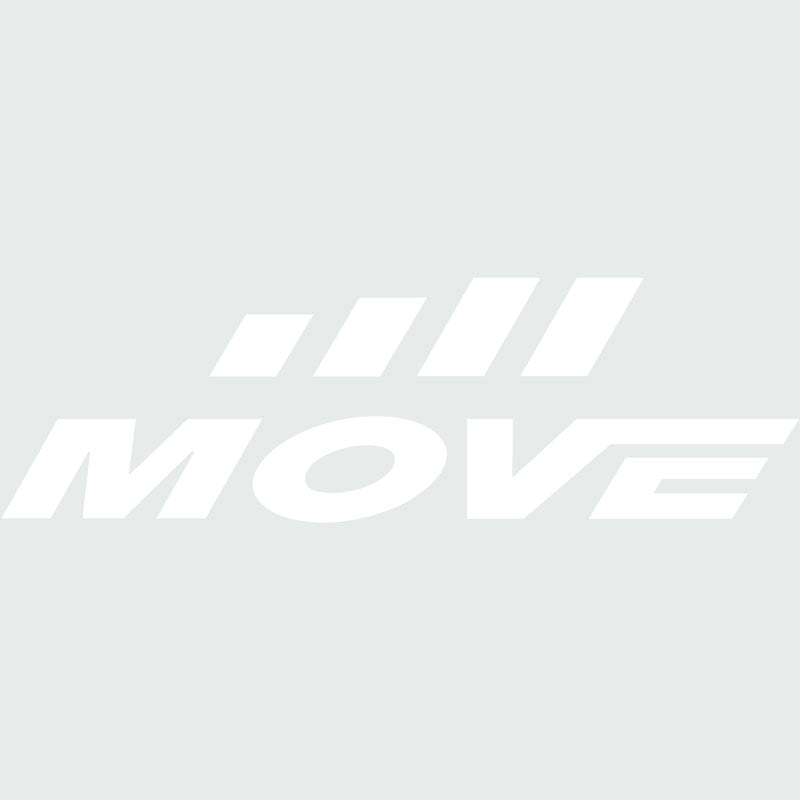 MOVE Window Sticker - White