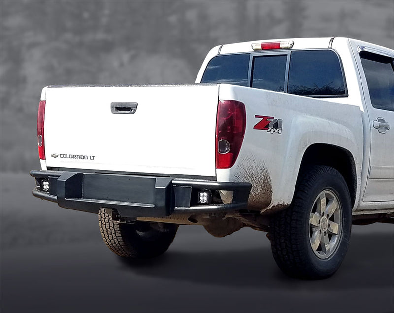 Embark Rear Bumper Kit on Colorado Truck