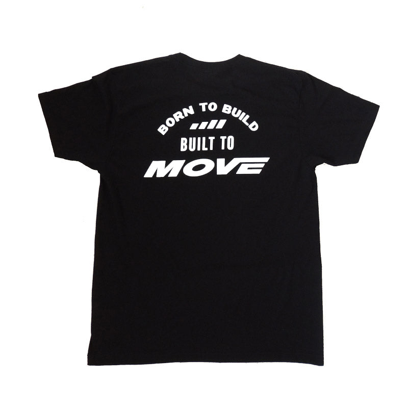 Born to Build - T-shirt Black - MOVE