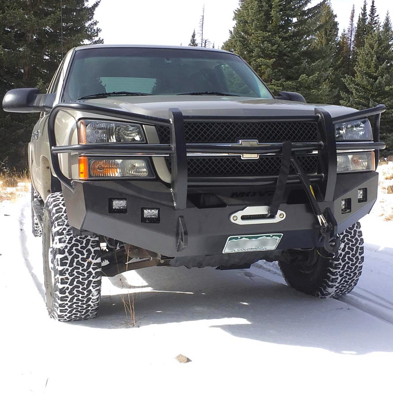 Front Full Grille Bumper Kit - Chevy Truck
