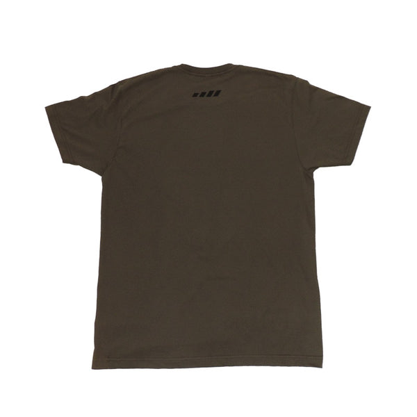 MOVE Bumpers - T-shirt - Olive - Back