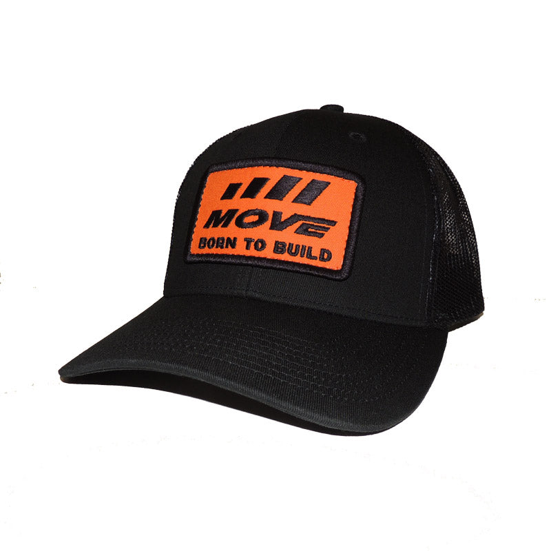 Born to Build Trucker Hat - Black - MOVE