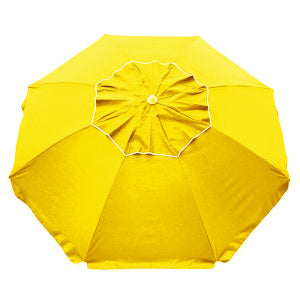 Beachcomber 210cm Beach Umbrella - Yellow