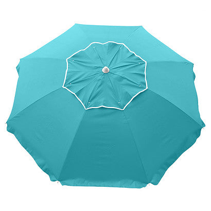 Beachcomber 210cm Beach Umbrella - Turquoise - STOCK LOW!