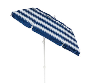 Portabrella 185cm Compact Umbrella - Nautical Stripe