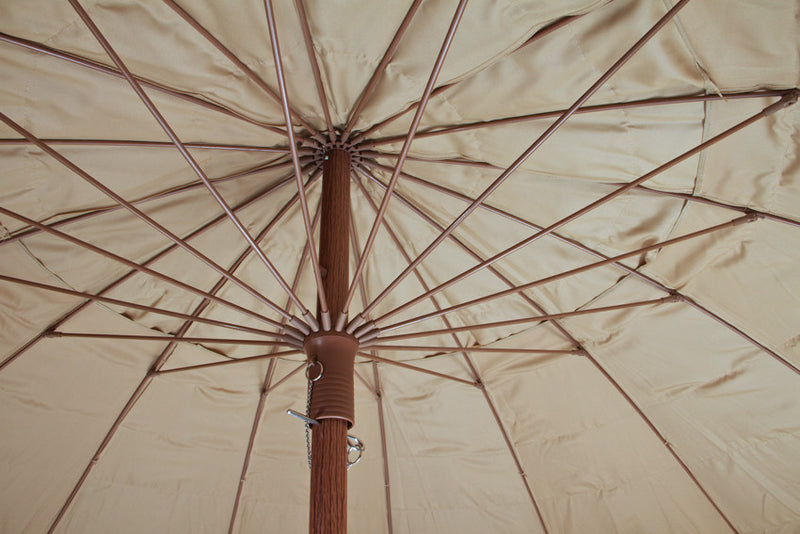 Beachkit Hula 240cm Shade Umbrella - Rafia Thatch