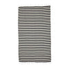 Beachkit - MAYDE - Reef Turkish Towel - Black & White Stripe