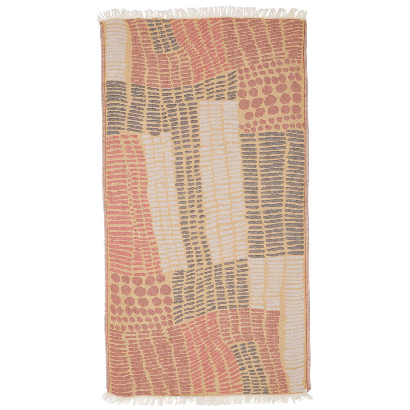 Beachkit - MAYDE - Friday Island Beach Towel - Multi