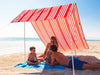 Hollie & Harrie Sombrilla Sun Shade - Iridescent Stripe