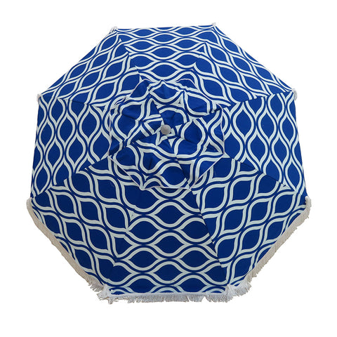 Hollie & Harrie Sombrilla Sun Shade - Moroccan Blue - SOLD OUT FOR THE SEASON