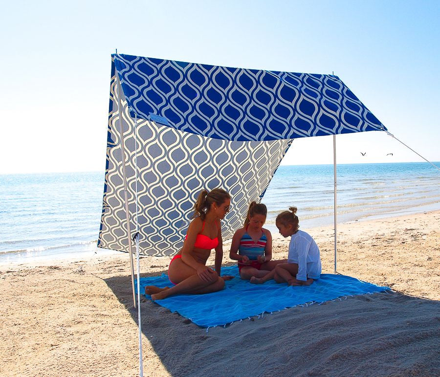 Hollie & Harrie Sombrilla Sun Shade - Moroccan Blue