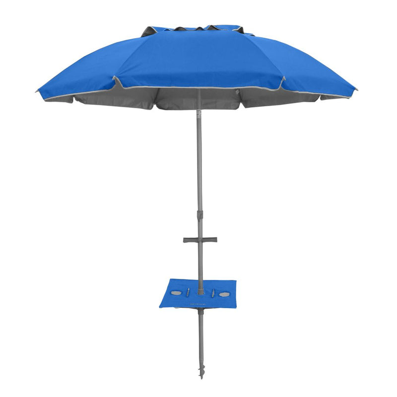 Beachkit Sunraker Pole Table (to fit 240cm umbrella models) - Royal Blue