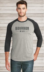 Load image into Gallery viewer, BOURBON MAN Baseball Tee